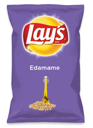 Wouldn't Edamame be yummy as a chip? Lay's Do Us A Flavor is back, and the search is on for the yummiest flavor idea. Create a flavor, choose a chip and you could win $1 million! https://www.dousaflavor.com See Rules.
