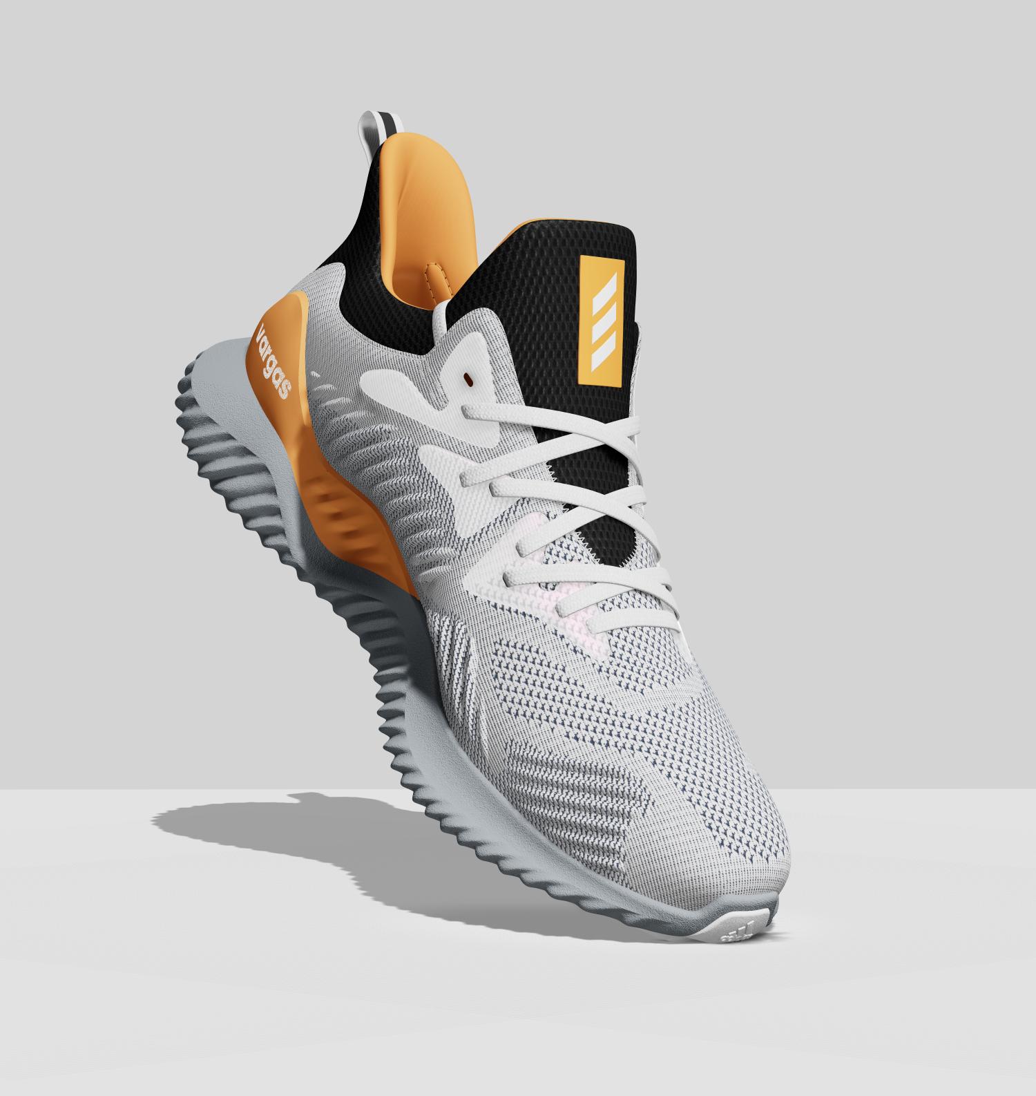 Custom Adidas mi Alpha Bounce Shoes