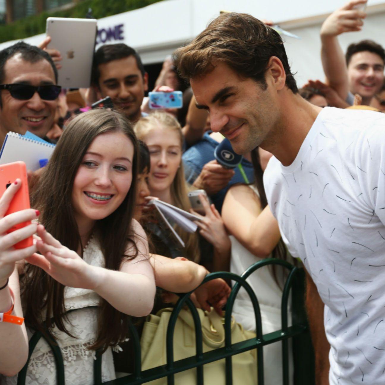 The Latest: Roger Federer Advances to Wimbledon Semifinals Roger Federer  #RogerFederer
