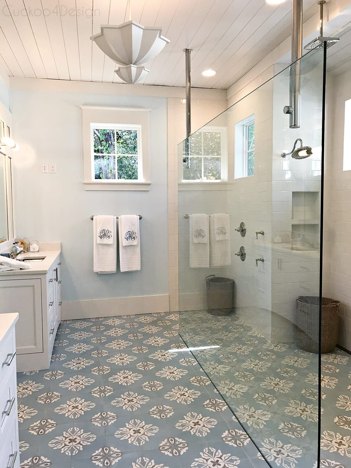 Southern Living Idea House 2017 Part 1 Cuckoo4design Southern Living Homes French Country Bathroom Bathrooms Remodel