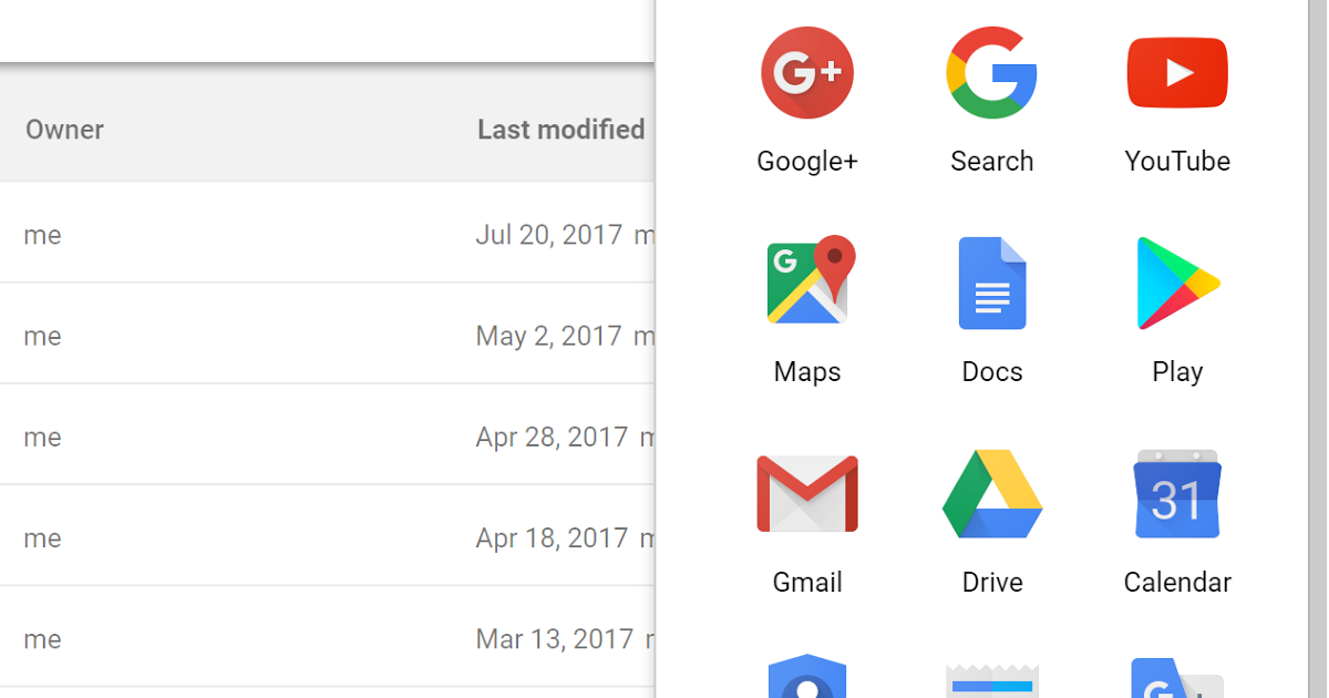 Warning The Default Order Of Icons In G Suite Launcher Is