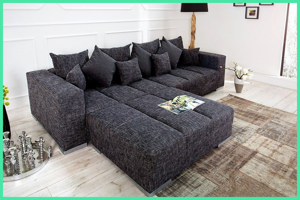 Schonheit Couch Big Sofa Loop Schwarz 1 Bigsofa In 2020 Big