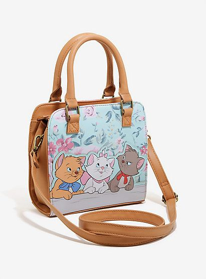 Loungefly Disney The Aristocats Floral Applique Crossbody Bag - BoxLunch  ExclusiveLoungefly Disney The Aristocats Floral Applique Crossbody Bag -  BoxLunch ... 9ab79ca97b0