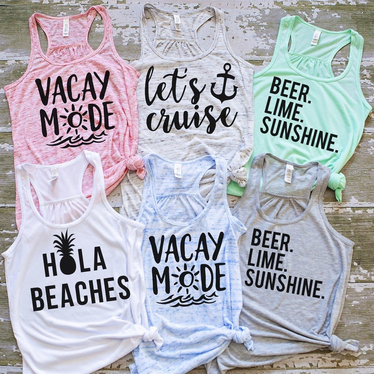 Vacation Life Tanks #vacationlooks