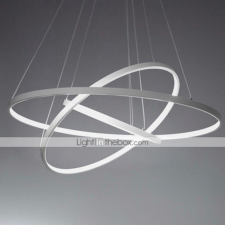 Gut Modern / Zeitgenössisch Pendelleuchten Raumbeleuchtung   LED, 110 120V  220 240V, Wärm Weiß Weiß Dimmbar Mit Fernbedienung | Pendente, Um Dia E  Iluminação