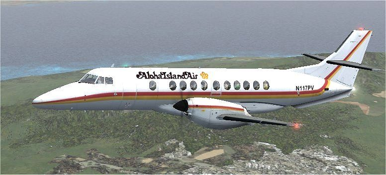 J41 Jetstream in Aloha Island Air colours