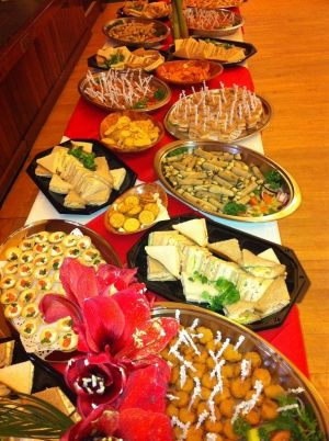 Hot And Cold Finger Food Wedding Buffet Food Party Food