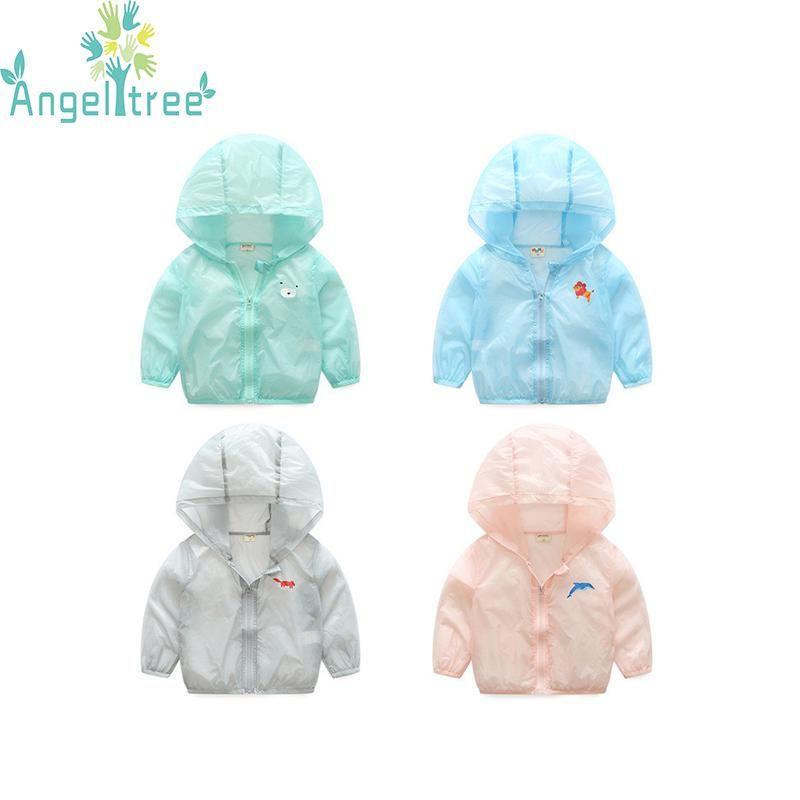 fcc050ef4 Angeltree Kids Toddler Boys Girls Jackets For Children s Sun ...