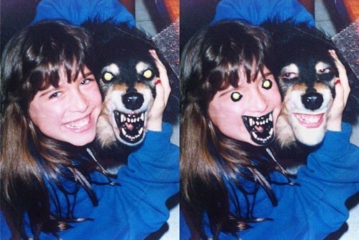 Horrifying face swap.. Probably gunna have nightmares now :P