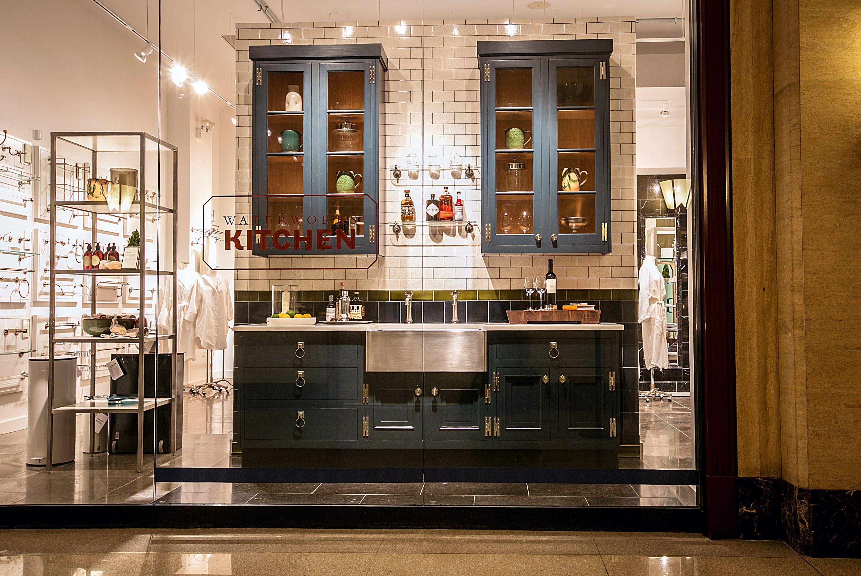 Waterworks kitchen in chicago showroom kitchenremodelingideas