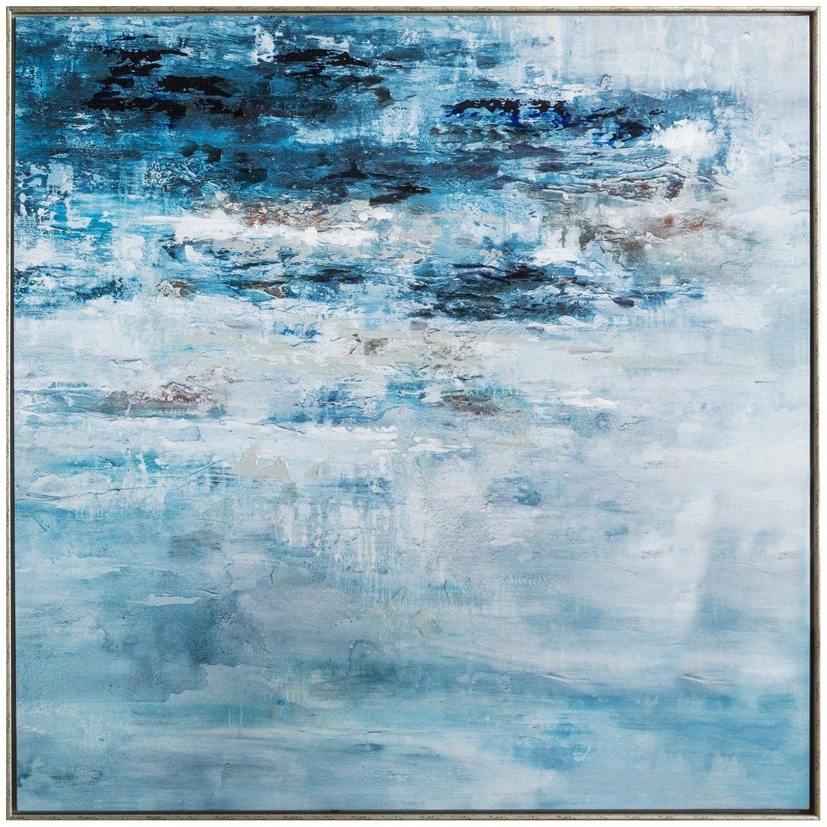 Pacific sea storm framed giclee canvas wall art print cm sea