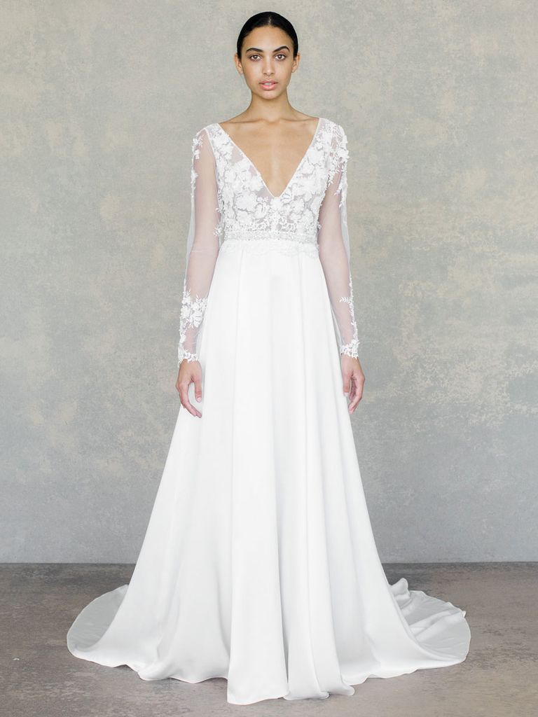 See Claire Pettibone Wedding Dresses From Bridal Fashion Week Claire Pettibone Wedding Dress Wedding Dresses Floral Wedding Dress