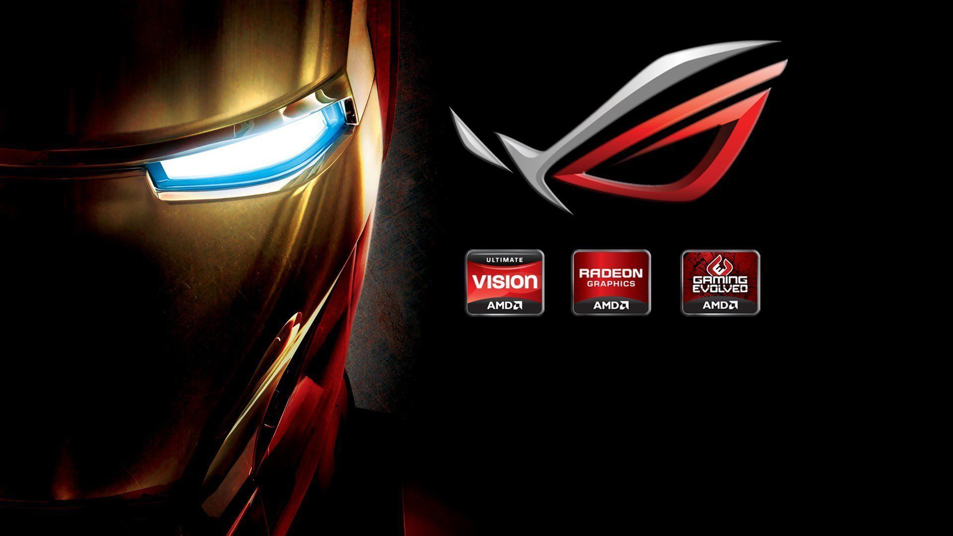 ironman amd rog hd 1080p widescreen wallpapers | places to visit