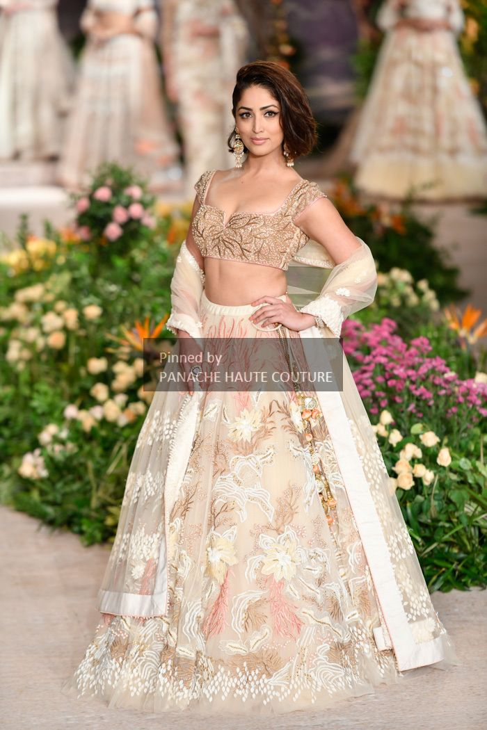 b703f90b69 Ivory colour designer wedding lehenga choli online from India Couture Week  2018. Contact us through Whatsapp +61470219564 for customisations and other  ...