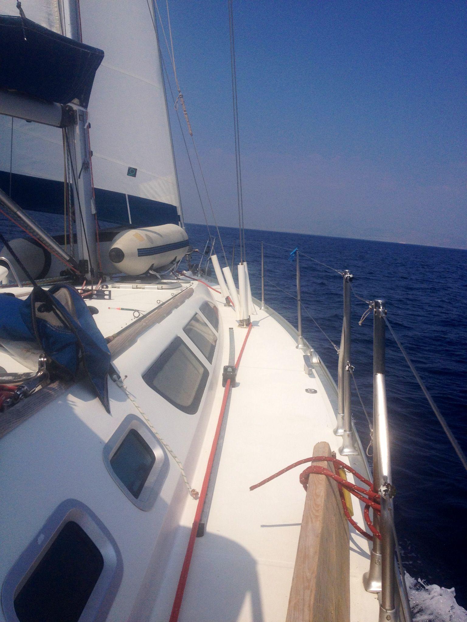 Island Trip Trip Sailing Boat