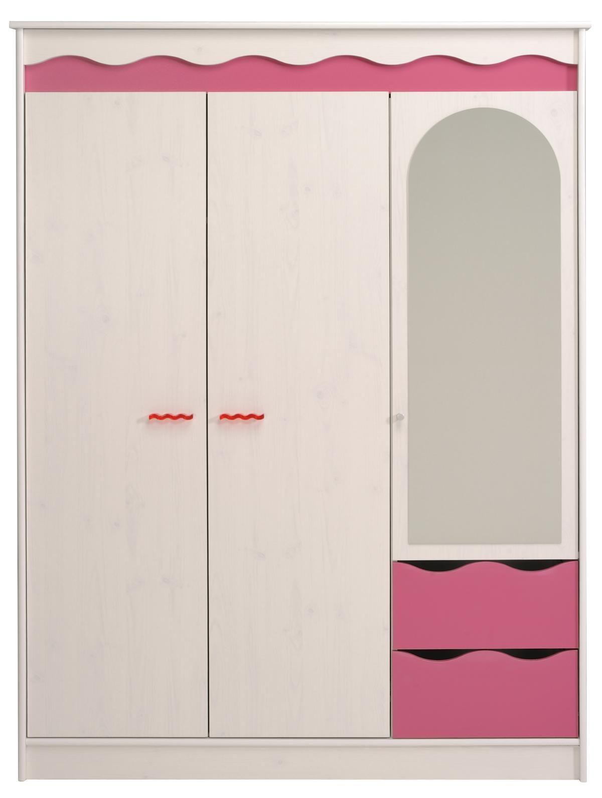 Kleiderschrank Lilou Ein kleiner Möbeltraum für Mädchen ist ganz ...
