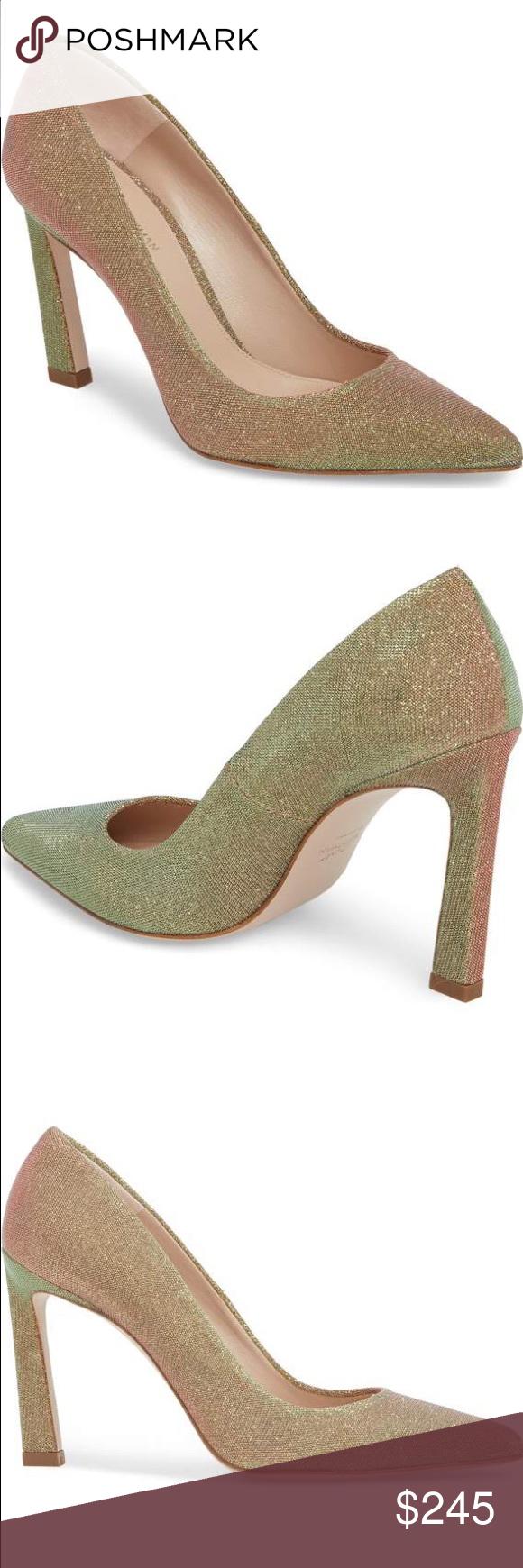 d7195257464 Unworn Stuart Weitzman chicster pump. Size 6. Unworn Stuart Weitzman gold  chicster pump. Size 6. Stuart Weitzman Shoes Heels