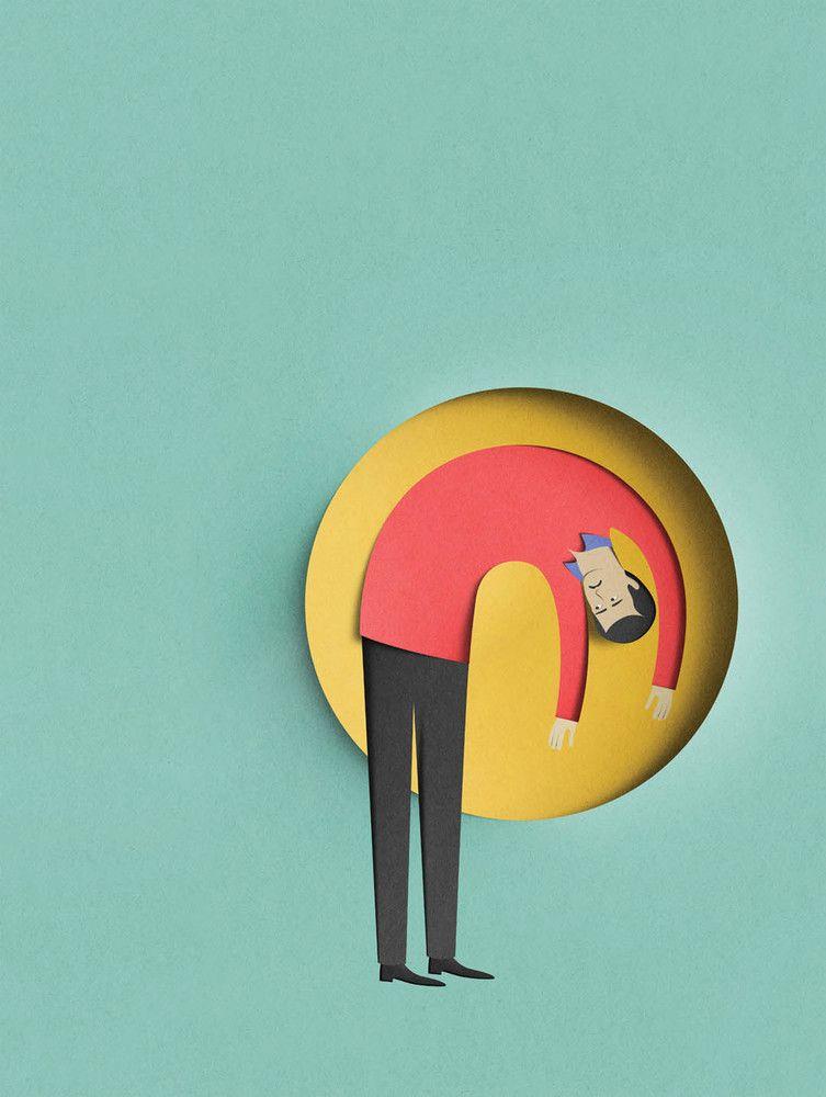 Papel ilustraciones de Eiko Ojala | iLUZtración | Pinterest | Papel ...