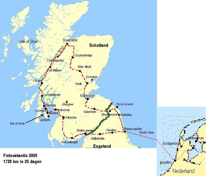 Rondreis Schotland - incl. Loch Ness