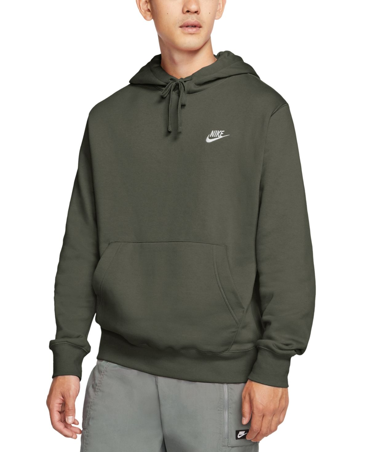 Nike Men S Sportswear Club Fleece Pullover Hoodie Reviews All Activewear Men Macy S In 2021 Mens Sweatshirts Hoodie Mens Sportswear Hoodies [ 1467 x 1200 Pixel ]