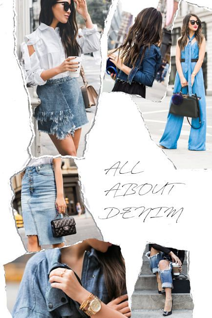 Sunday Spotlight :: All About Denim    Tweet  HappySundayeveryone! Were gearing up for a very special trip. Cant wait to tell you more about it! In the meantime I wanted to share another fashion theme thats classic for spring denim!  The versatile denim comes in all shapes and cuts jeans shorts skirts shirts jackets and more. And no matter how many I have I always take a peek at new denim pieces and styles regardless of season. Denim is a piece that can be seamlessly integrated into any wardrobe