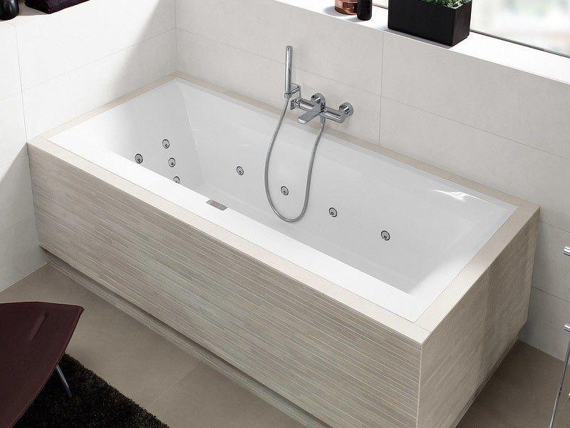 Villeroy Boch Squaro Edge 12 Duo Rechteck Badewanne Bathroom