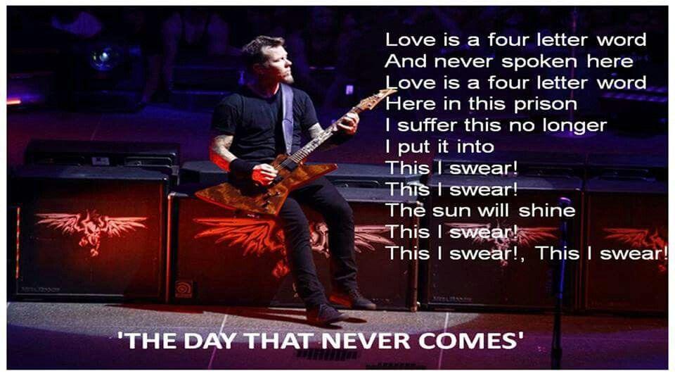 Love Is A Four Letter Word Metallica Honghankk