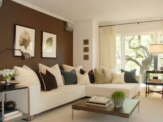 Wohnzimmer Farblich Gestalten Braun Design Pinterest