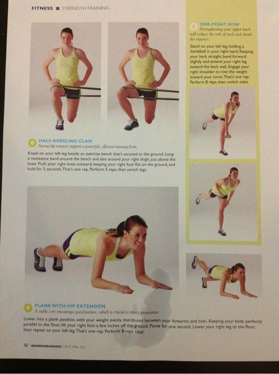 Running stretches- pg 3