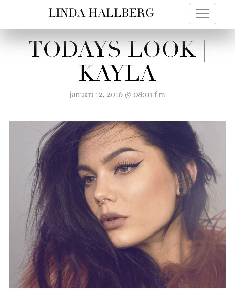 Today's look - Kayla