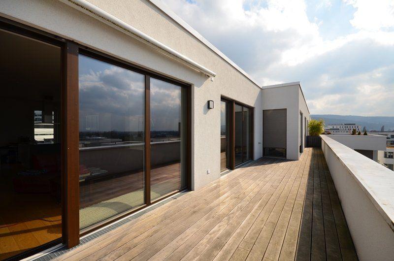 Heidelberg Bahnstadt : Exklusive 4 Zimmer-Penthousewohnung Mit