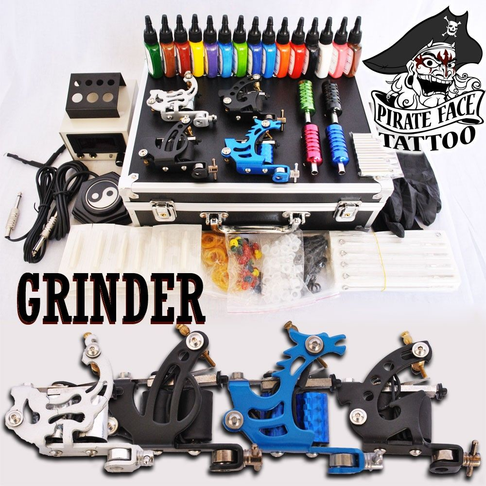 GRINDER CLASSIC - 4 Gun Tattoo Starter Kit | cupcakin\' and things ...