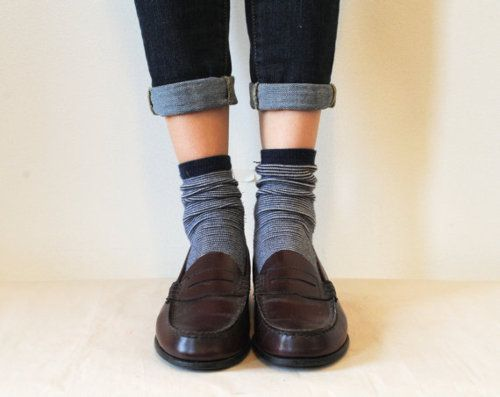 The Penny Loafers Loafers With Socks How To Wear Loafers Penny Loafers Outfit