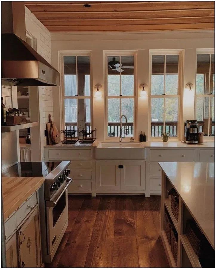 101 Inspiring Kitchen Design Ideas From Pinterest 166 Pointsave Net In 2020 Home Home Kitchens Cottage Kitchens