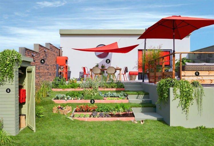 Amenager Un Jardin En Pente Jardin En Pente Amenagement Jardin En Pente Amenagement Jardin