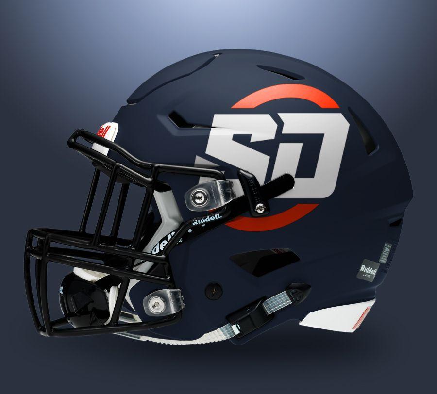 Football helmet mockup free