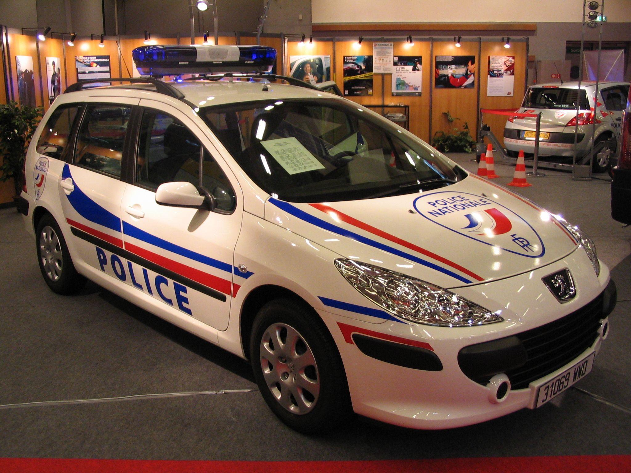 police nationale paris france peugeot pinterest police voitures et vehicule. Black Bedroom Furniture Sets. Home Design Ideas