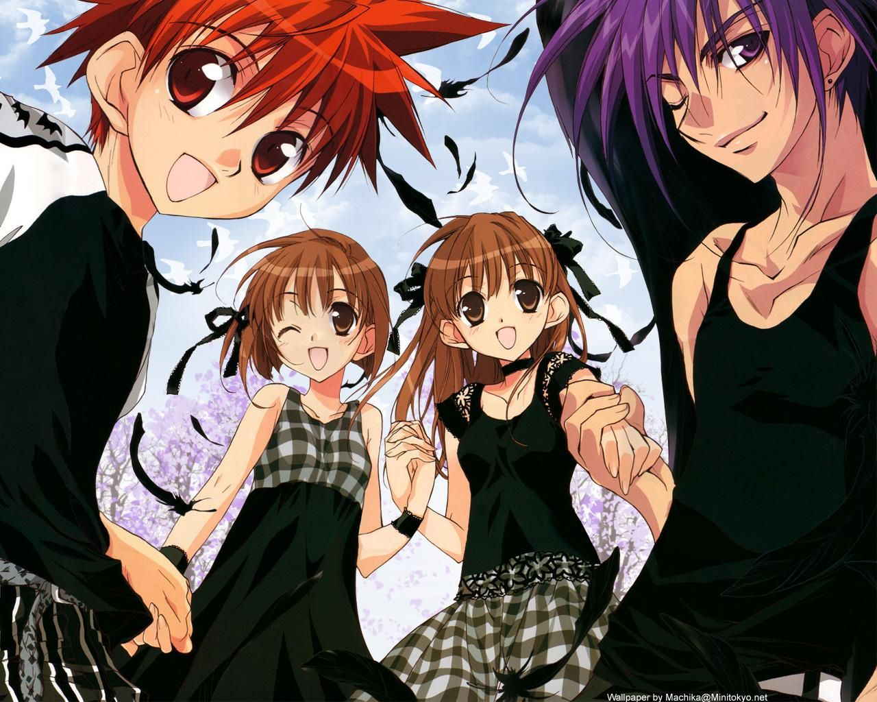 Daisuke riku dark risa - Dark anime couples ...