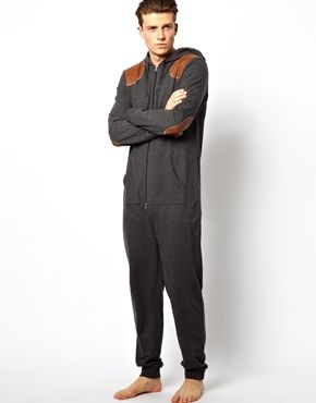 Image 4 of ASOS Onesie with Shooting Patches
