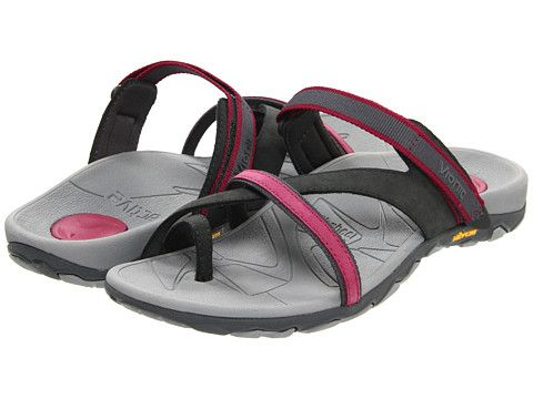 f985a7feb3be VIONIC with Orthaheel Technology Mojave Vionic™ Sport Recovery Toepost  Sandal Grey Berry - Zappos.com Free Shipping BOTH Ways