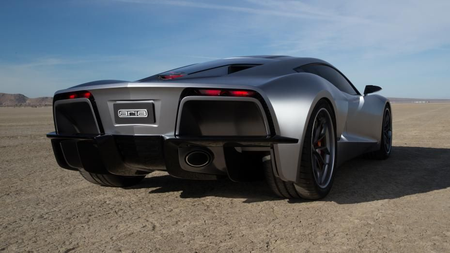 This is 'Fast Eddy' a 650bhp, V8 midengined supercar