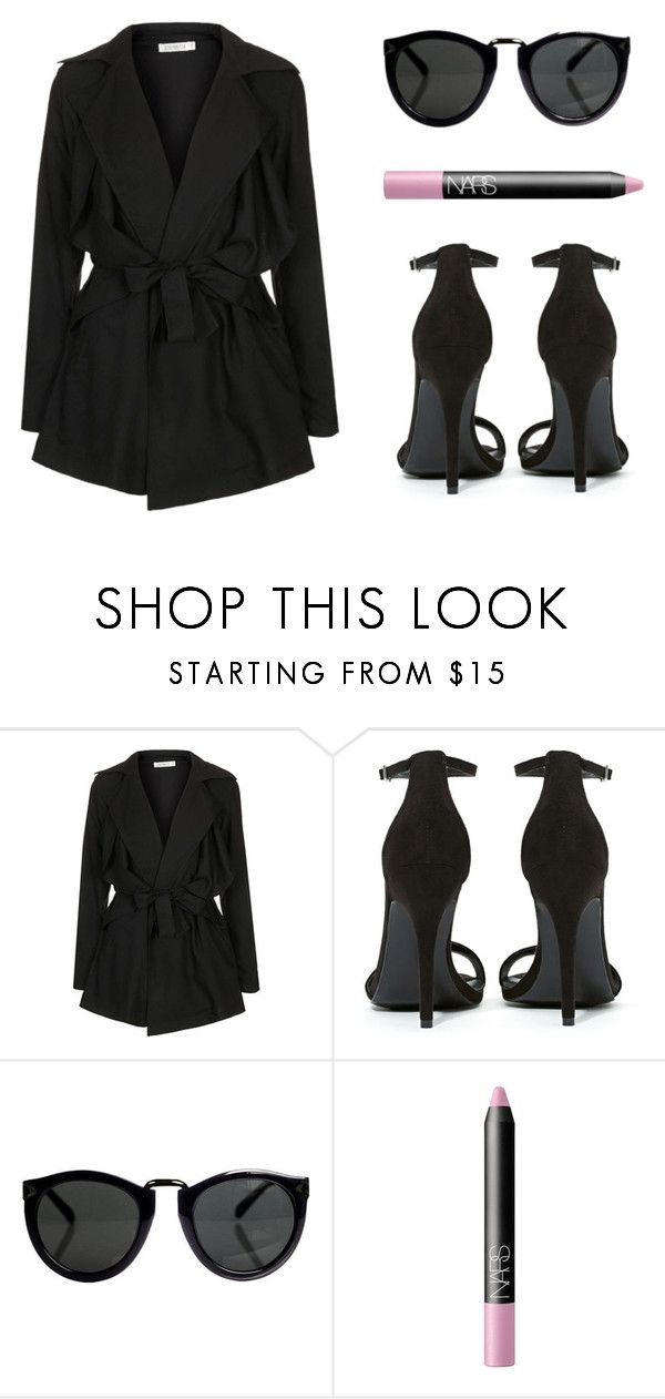 """""""Untitled #324"""" by jasminsimons ❤ liked on Polyvore featuring Topshop, Shoe Cult and NARS Cosmetics"""