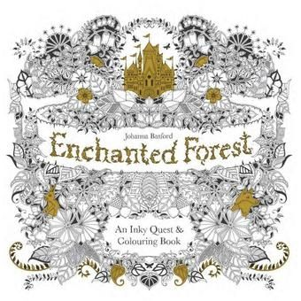 Secret Garden And Enchanted Forest Original English Version Adult Coloring Books Combo