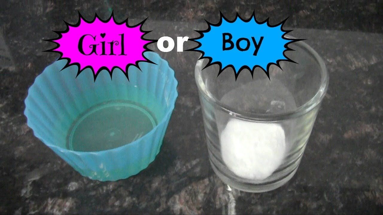 Baking Soda Gender Test!.. Mine said boy... And I'm having a boy!