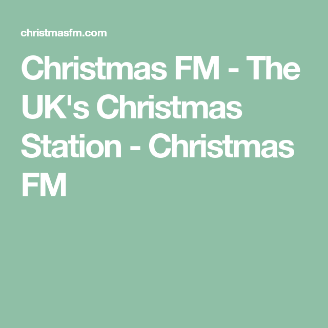 christmas fm the uks christmas station christmas fm