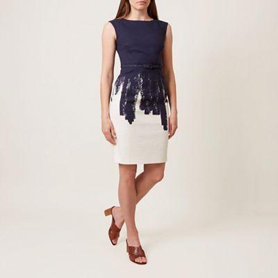 high fashion good quality shades of Hobbs Navy 'Lena' dress | Debenhams | Hobbs london, Dresses, White ...
