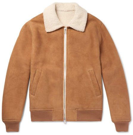 Trimmed JacketBomber De Facture Bonne Wool Shearling cA53L4jRqS