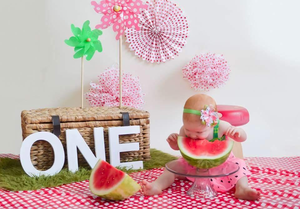 First Birthday Watermelon Smash I Just Love My Little