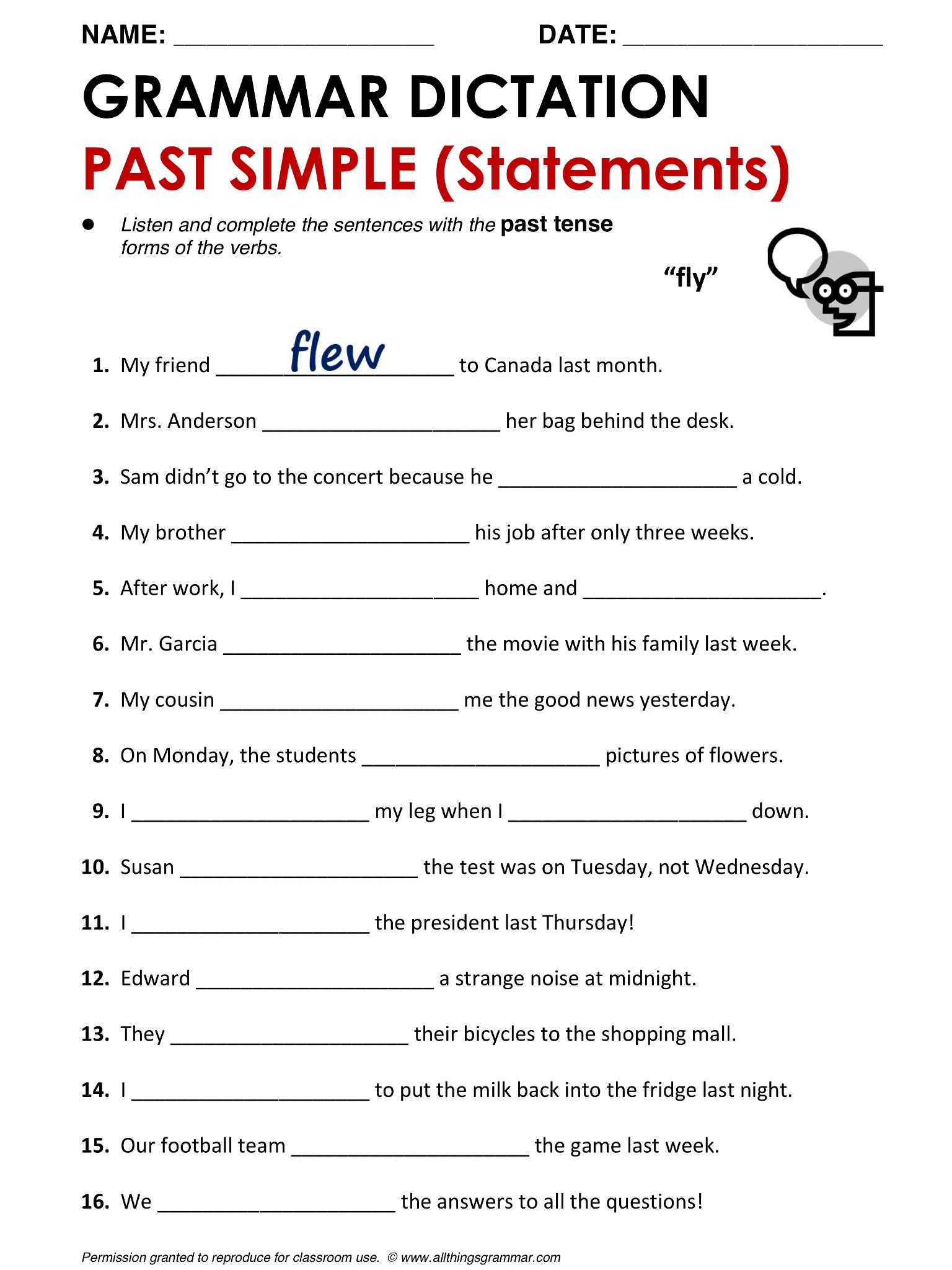 Image Result For Worksheets Possessive Adjective