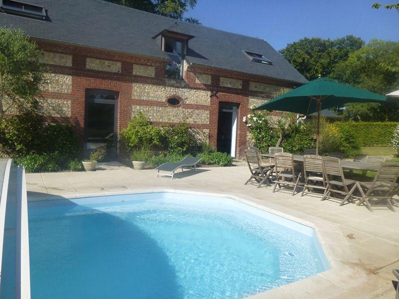 Gîte des Oliviers - n°G2160 à Gruchet-le-Valasse (Seine-Maritime) A - location villa piscine couverte chauffee